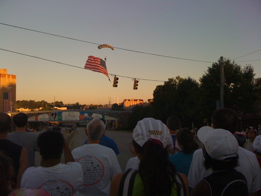 National Anthem at the US 10k Classic