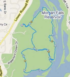 Gold Branch Trail Map