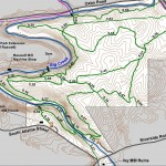 Vickery Creek Running Trail Map